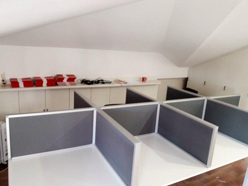 açık ofislerde bölme panel sistemleri